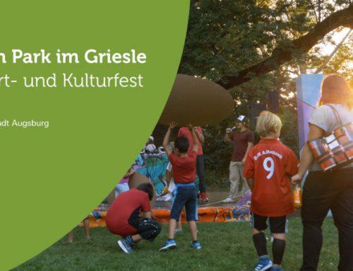 Stadt Augsburg Sport- und Kulturfest im Griesle-Park