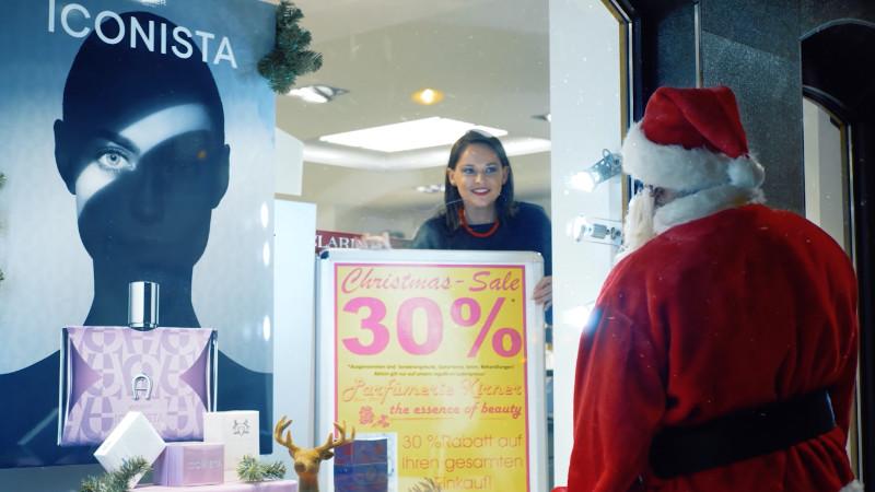 Video vom Weihnachtsmann Augsburg